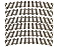 "Image 1 for Atlas Railroad HO-Gauge Code 83 Snap-Track 22"" Radius Curve (6)"