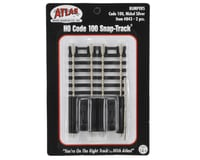 Image 2 for Atlas Railroad HO-Scale Code 100 Bumpers (2) (Nickel Silver)