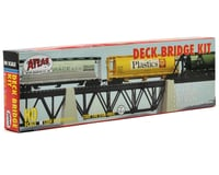 Image 2 for Atlas Railroad HO-Gauge Code 100 Snap-Track Deck Truss Bridge