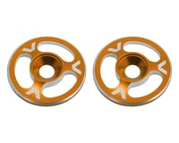 Avid RC Triad Wing Mount Buttons (2) (Orange) (S-Workz S350 T)