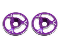 Avid RC Triad Wing Mount Buttons (2) (Purple) (Team Associated RC8.2e)
