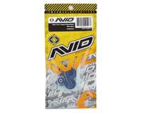 Image 2 for Avid RC Triad 17mm Fine Thread Capped Wheel Nut Set (Blue) (4) (M12x1.0)