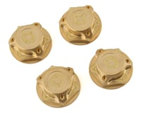 Avid RC Triad 17mm Brass Capped Wheel Nut Set (4) (Losi L8ight)