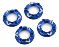 "Avid RC ""Triad"" 17mm Light Weight Wheel Nut (4) (Blue) (Losi L8ight)"