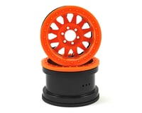 Axial Method IFD 2.2 Beadlock Rock Crawler Wheels (2) (Orange)