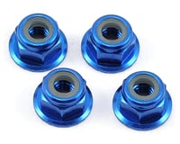 Axial EXO M4 Serrated Wheel Nut (Blue) (4)