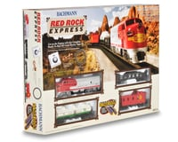 Bachmann HO-Scale Red Rock Express Train Set (Santa Fe)