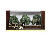 """Bachmann Scenescapes Oak Trees (3) ( 3-3.5"""")"""