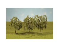 "Bachmann Scenescapes Willow Trees (4) (2.25-2.5"") 