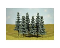 """Bachmann SceneScapes Blue Spruce Trees (3) (8-10"""")"""