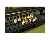 Bachmann SceneScapes Waist-Up Seated Passengers (12) (HO Scale)