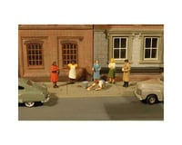 Bachmann SceneScapes Sidewalk People (7) (HO Scale)