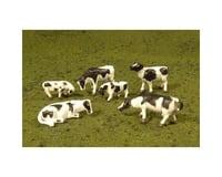 Bachmann SceneScapes Cows (Black & White) (6) (O Scale)
