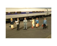 Bachmann SceneScapes Standing Platform Passengers (O Scale)