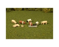 Bachmann SceneScapes Pigs (9) (O Scale) | relatedproducts