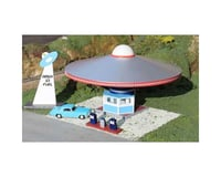 Bachmann Roadside U.S.A. Building Area 51 Fuel Station w/Pumps (HO Scale)