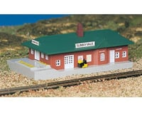 Bachmann N-Scale Plasticville Built-Up Sunnyvale Passenger Station | relatedproducts