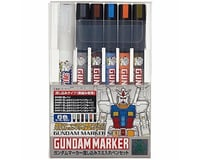 Bandai Gundam Marker Extra Thin Panel Pen Set (6)