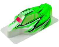 "Image 1 for Bittydesign ""Force"" Kyosho MP9 TKI2/3/4 1/8 Pre-Painted Buggy Body (Wave/Green)"
