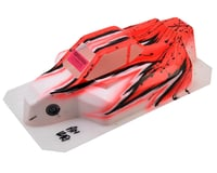 "Bittydesign ""Force"" Kyosho MP9 TKI 4 1/8 Pre-Painted Buggy Body (Wave/Red)"