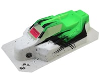 "Bittydesign ""Force"" XRAY XB8 1/8 Pre-Painted Buggy Body (Dirt/Green) 