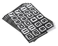 Image 1 for Bittydesign Race Number Decal Sheet (Medium Pack - 5 Sheet)