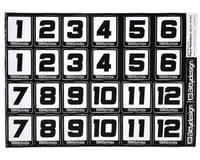 Image 2 for Bittydesign Race Number Decal Sheet (Medium Pack - 5 Sheet)