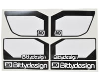 """Image 4 for Bittydesign """"Zefirus"""" Lexan 1/8 Buggy & Truggy Wing (Clear)"""