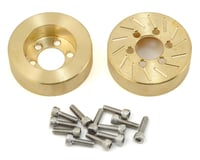 Beef Tubes 1.9 SLW Patties (Brass) (2) (Vanquish SLW) (Axial SMT10)
