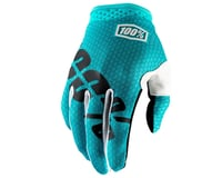 100% iTrack Full Finger Glove (Teal) | relatedproducts