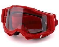 100% Accuri 2 Goggles (Red) (Clear Lens)