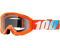 100% STRATA JR Goggles (Orange) (Clear Lens)