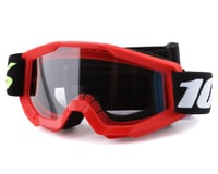 100% Strata Mini Goggles (Red) (Clear Lens)