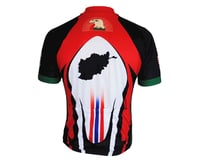 Image 2 for 83 Sportswear Afghanistan OEF Short Sleeve Jersey (Red)