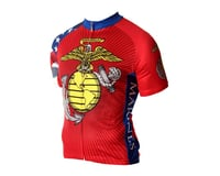 Image 1 for 83 Sportswear U.S. Marine Corps Short Sleeve Jersey (Red)