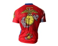 Image 2 for 83 Sportswear U.S. Marine Corps Short Sleeve Jersey (Red)