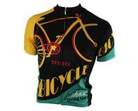 Image 2 for 83 Sportswear Antique Bike Short Sleeve Jersey (Black)