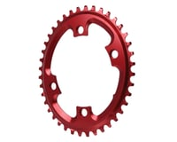 Absolute Black Asym CX Oval Chainring (Red) (110mm BCD) (40T)   relatedproducts