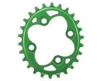 Absolute Black Oval Chainring (Green) (64mm BCD)