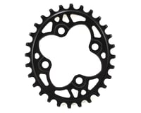 Absolute Black Oval Chainring (Black) (64mm BCD)