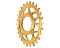 Absolute Black Direct Mount Race Face Cinch Oval Ring (Gold)
