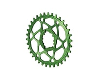 Absolute Black Spiderless GXP Direct Mount Oval Ring (Green) (34T) | relatedproducts