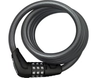 Abus Star 4508 Combination Coiled Cable Lock (Black) (150cm x 8mm)