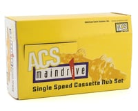 Image 2 for ACS Maindrive Cassette Hubs (Black) (3/8) (36H)