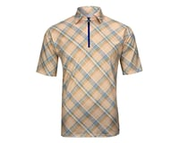 Image 3 for Alexander Julian Argyle Plaid Short Sleeve Jersey (Yellow Plaid)