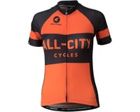 Image 1 for All-City Classic Women's Jersey (Orange) (XL)