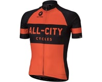 Image 1 for All-City Classic Men's Jersey (Orange) (XS)