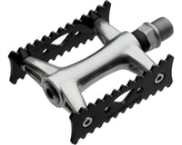 All-City Wallner Pro Track Pedals (Black/Silver)