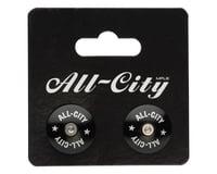 Image 2 for All-City Locking Handlebar End Plugs (Black)