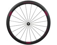 Image 1 for Alto Wheels CC40 Carbon Front Clincher Road Wheel (Pink)